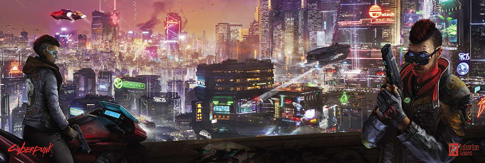 Player-facing side of the Cyberpunk RED Data Screen.